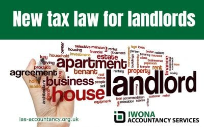 New tax law for landlords